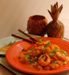 Asian Sweet and Sour Shrimp