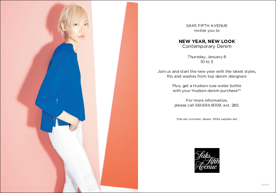 SAKS DENIM EVENT