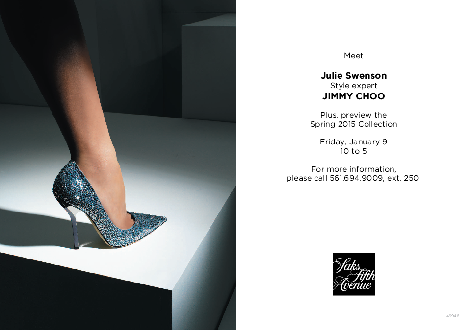 Jimmy Choo Event at Saks