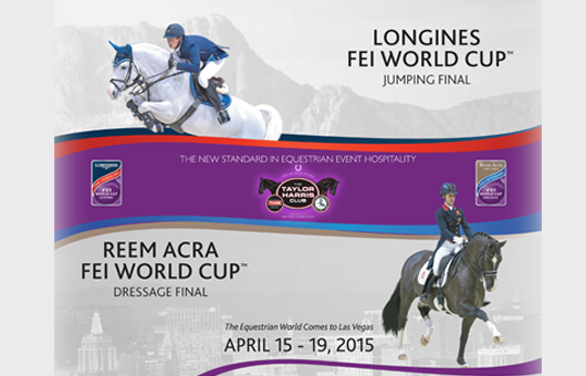 2015 FEI World Cup Finals: Schedule