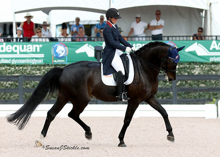 U.S. Team 1 Holds Strong Lead In First Day of Stillpoint Farm FEI Nations Cup CDIO3* Competition