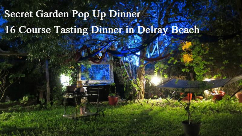 Secret Garden Pop Up Dinner