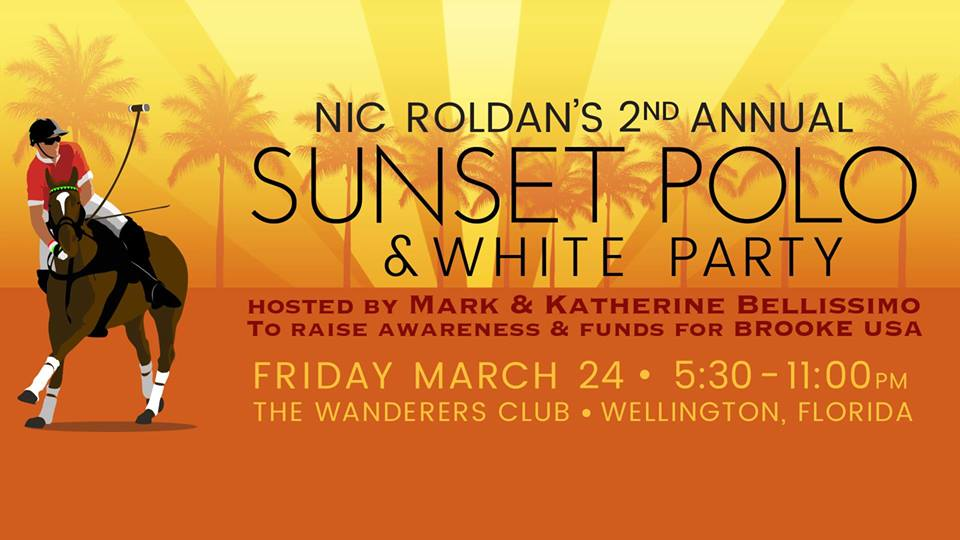 Nic Roldan's Sunset Polo and White Party, Friday!