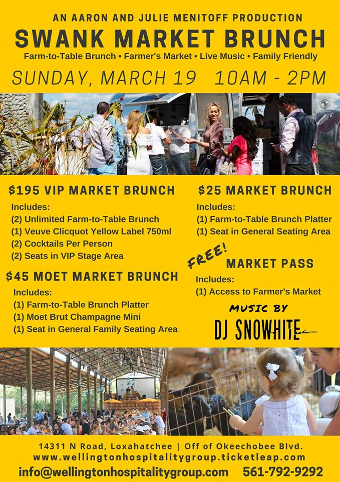 Swank Market Brunch Sunday