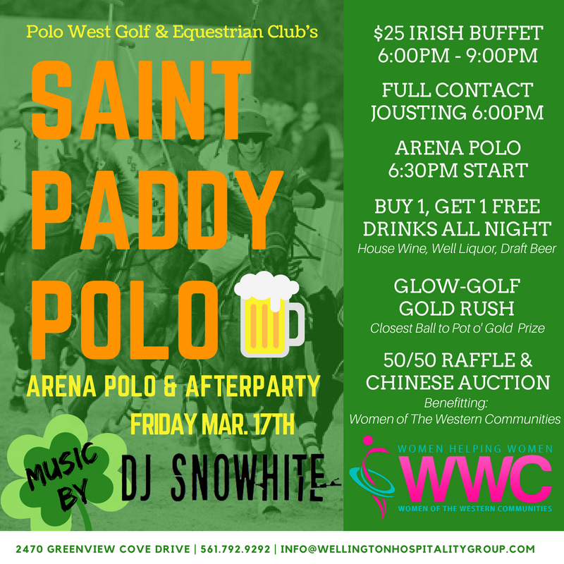 Saint Paddy Polo Friday at Polo West