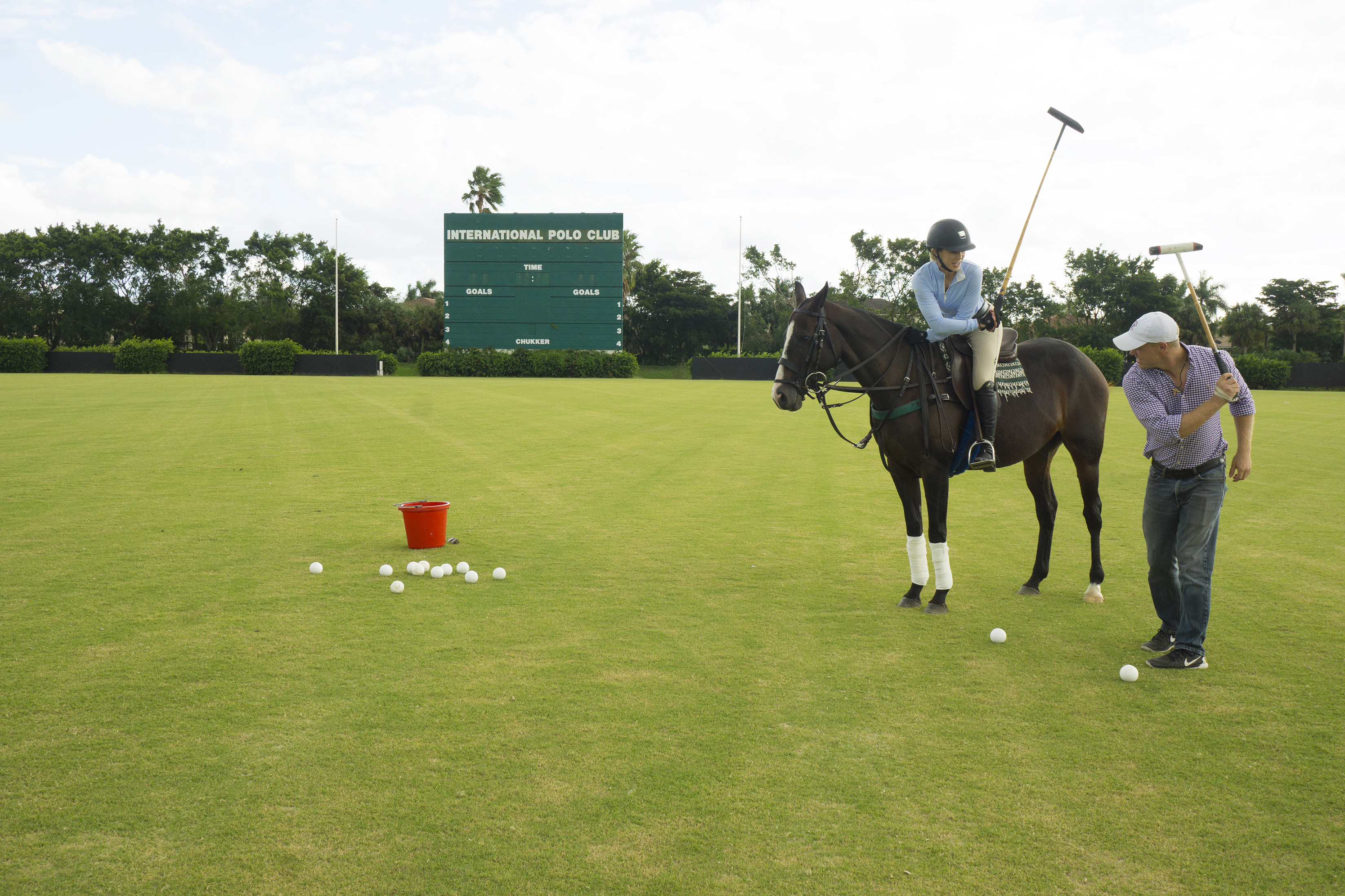Polo Lessons at IPC
